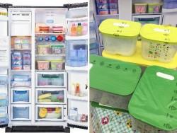 Cách  bảo quản thực phẩm trong tủ lạnh ngày tết