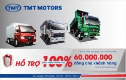 Khuyến mãi cực lớn cho khách hàng mua xe tmt trong tháng 10 tháng 11 năm 2017