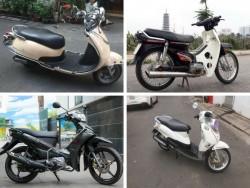 Dưới 10 triệu nên mua xe máy cũ nào là tốt nhất?