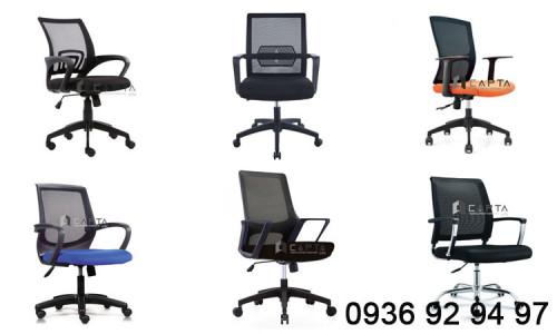 Nơi bán ghế xoay nhân viên văn phòng lưng lưới giá rẻ tại HCM, 96105, Nội Thất Capta, Blog MuaBanNhanh, 29/10/2020 10:34:53