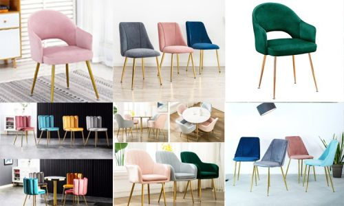 Các mẫu ghế tiếp khách nệm vải nhung chân mạ vàng hot nhất hiện nay, 96312, Nội Thất Capta, Blog MuaBanNhanh, 19/01/2021 16:36:26