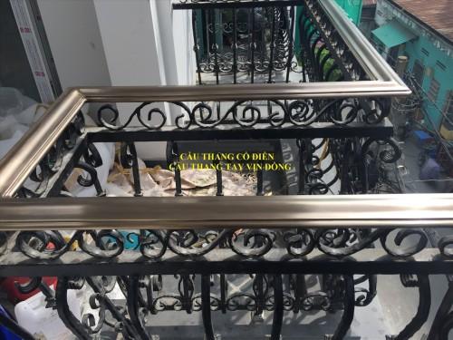 Tay vịn cầu thang bằng đồng giả cổ tại cơ sở Việt Hưng, 80224, Ngô Quang Vinh, Blog MuaBanNhanh, 10/04/2018 16:57:34