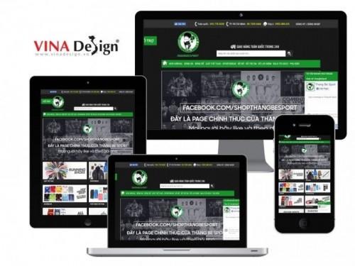 Báo Tiền Phong đưa tin về đối tác thiết kế website VINADESIGN: Shop Thằng Bé Sport - nơi hội ngộ của các tín đồ yêu thể thao, 77999, Thiết Kế Web Vinadesign, Blog MuaBanNhanh, 28/12/2017 12:16:56