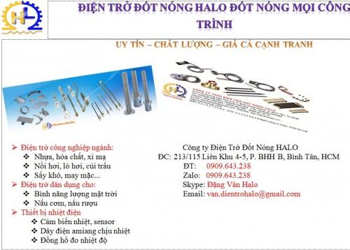 Công ty TNHH Điện trở đốt nóng Halo, 75642, Đặng Vân, Blog MuaBanNhanh, 28/12/2017 12:03:00