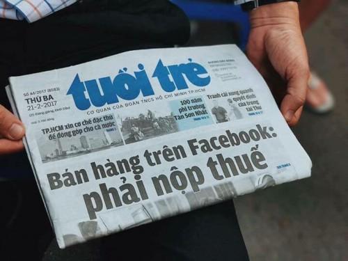 Bán hàng trên Facebook phải nộp thuế, 77714, Võ Sen Mua Bán Nhanh, Blog MuaBanNhanh, 28/12/2017 12:06:21