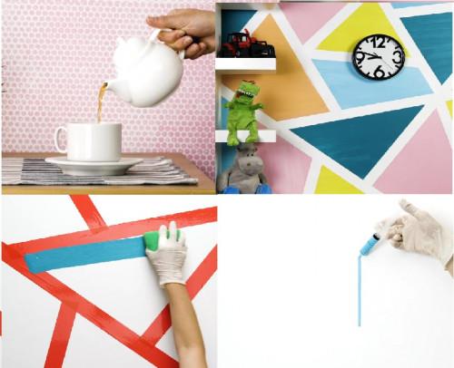 Những ý tưởng sơn tường nghệ thuật tuy đơn giản nhưng siêu đẹp độc đáo, 82246, Đồ Dùng Gia Đình Tiện Ích, Blog MuaBanNhanh, 18/06/2018 11:46:30