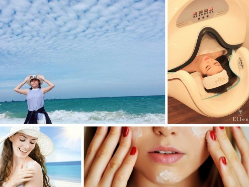 Chăm sóc da khi ra nắng, 80614, Ellen Spa, Blog MuaBanNhanh, 24/04/2018 12:22:43