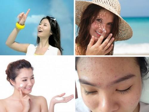 Da mụn có nên dùng kem chống nắng không, 80812, Ellen Spa, Blog MuaBanNhanh, 28/05/2018 11:21:16