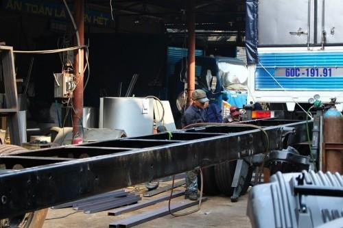Ô tô Phú Mẫn - xưởng đóng thùng xe tải tốt nhất miền Nam, 76939, Nguyễn Minh Khôi, Blog MuaBanNhanh, 28/12/2017 11:33:48