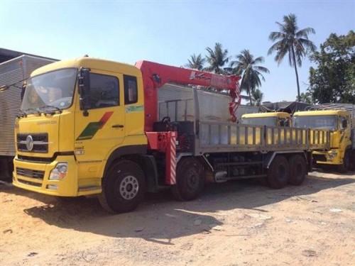 Ở đâu bán xe tải trả góp-bán xe Dongfeng 4 chân gắn cẩu, 76915, Lê Thanh Hòa, Blog MuaBanNhanh, 28/12/2017 11:32:58