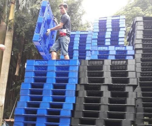 Pallet nhựa đã qua sử dụng, 75507, Pallet Nhựa Cũ Giá Rẻ, Blog MuaBanNhanh, 28/12/2017 12:01:06