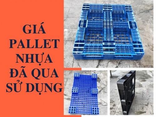 Giá pallet nhựa đã qua sử dụng, 77703, Pallet Nhựa Cũ Giá Rẻ, Blog MuaBanNhanh, 09/11/2018 15:09:05