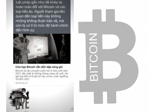 Người đào Bitcoin và giao dịch tiền ảo có thể bị xử lý hình sự ?, 78269, Hoàng Cảnh, Blog MuaBanNhanh, 28/12/2017 14:35:59