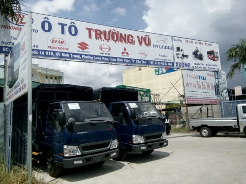 Công ty TNHH ô tô Trường Vũ - đại lý xe tải uy tín miền Tây, 76987, Anh Hòa, Blog MuaBanNhanh, 28/12/2017 11:35:28