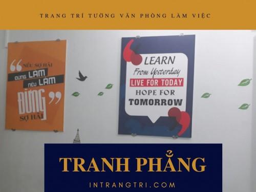 Trang trí tường văn phòng làm việc với tranh phẳng, 75839, Ms Thanh Xuân, Blog MuaBanNhanh, 23/07/2018 10:22:41