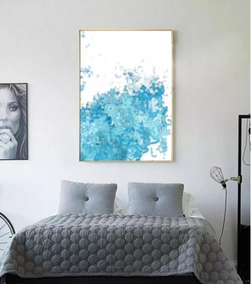 Nơi bán tranh treo tường trang trí giúp phòng ngủ trở nên đẹp mê hồn, 81466, Ms Thanh Xuân, Blog MuaBanNhanh, 23/07/2018 10:22:43