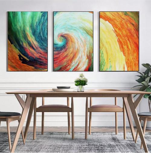 Tạo phong cách cho phòng khách với tranh bộ treo tường, 81537, Ms Thanh Xuân, Blog MuaBanNhanh, 23/07/2018 10:22:43