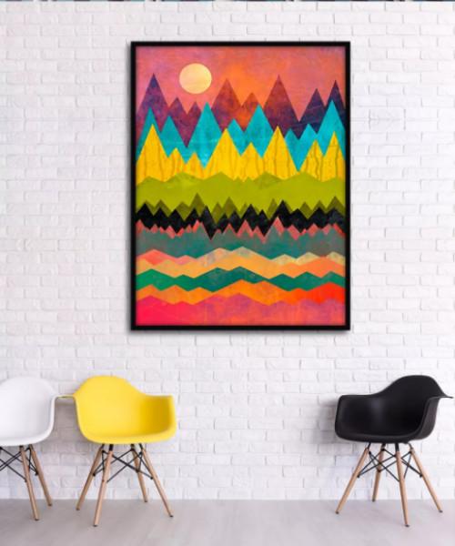 Biến hóa đầy nghệ thuật với tranh treo tường phòng khách đẹp hiện đại, 81576, Ms Thanh Xuân, Blog MuaBanNhanh, 23/07/2018 10:22:43