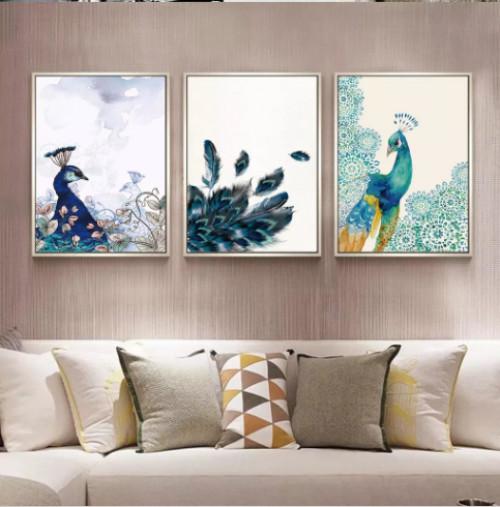 Tô điểm nét nghệ thuật cho phòng khách bằng tranh bộ treo tường hiện đại, 81672, Ms Thanh Xuân, Blog MuaBanNhanh, 23/07/2018 10:22:43