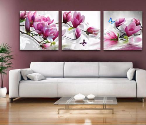 Độc đáo mẫu tranh bộ treo tường phòng khách, 81685, Ms Thanh Xuân, Blog MuaBanNhanh, 30/05/2018 17:18:47