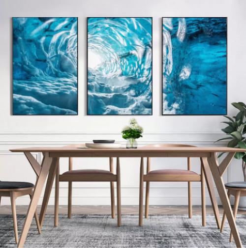 Trang trí không gian đầy thu hút với tranh bộ phòng khách, 81701, Ms Thanh Xuân, Blog MuaBanNhanh, 23/07/2018 10:22:44