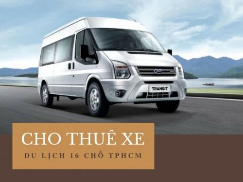 Cho thuê xe du lịch 16 chỗ TPHCM, 77775, Nguyễn Văn Tuấn, Blog MuaBanNhanh, 28/12/2017 12:08:45