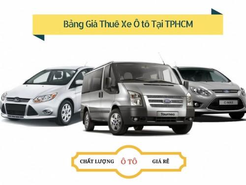 Bảng giá thuê xe ô tô tại TPHCM, 77838, Nguyễn Văn Tuấn, Blog MuaBanNhanh, 28/12/2017 12:11:11