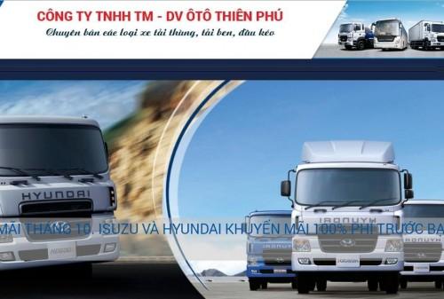 Công ty TNHH TM - DV ô tô Thiên Phú chuyên bán các loại xe tải thùng, tải ben, đầu kéo uy tín, 76919, Trúc Vy, , 28/12/2017 11:33:06