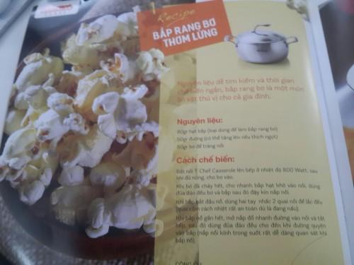 Cách làm bắp rang bơ thành công 100% với nồi Tupperware-chef Series Sauce pan, 79006, Tupperware Nguyễn Cư Trinh, Blog MuaBanNhanh, 09/02/2018 11:12:08
