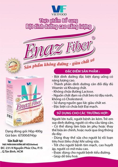 Bột dinh dưỡng cao năng lượng Enaz Fiber, 82661, Sherab, Blog MuaBanNhanh, 30/06/2018 09:49:28