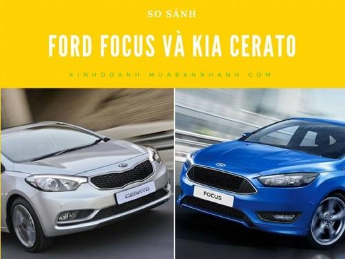 So sánh Ford Focus và Kia Cerato, 77404, Sài Gòn Ford, Blog MuaBanNhanh, 28/12/2017 11:54:40