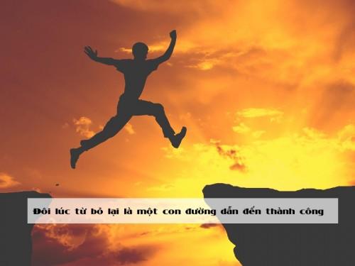 Đôi lúc từ bỏ lại là một con đường dẫn đến thành công, 77692, Nguyễn Ngọc Diệp, Blog MuaBanNhanh, 28/12/2017 12:05:30