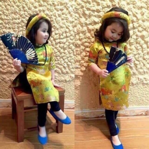Áo dài cách điệu cho bé gái, áo dài cách tân bé trai giá rẻ, 76976, G & D Shop, Blog MuaBanNhanh, 28/12/2017 11:35:01