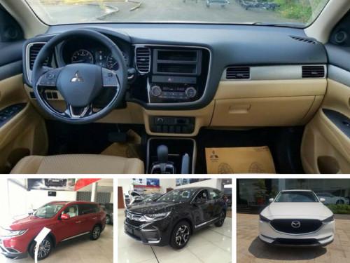 So sánh giá Mitsubishi Outlander, Mazda CX 5 và Honda CR V, 82633, Mr Tuấn, Blog MuaBanNhanh, 29/06/2018 14:18:54