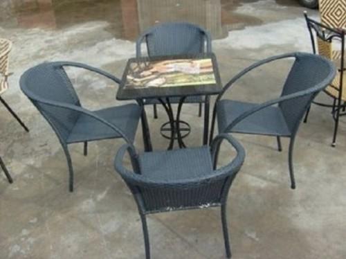 Bàn ghế cafe nhựa giả mây thanh lý, 80075, Bàn Ghế Cafe Giá Rẻ, Blog MuaBanNhanh, 03/04/2018 14:27:14