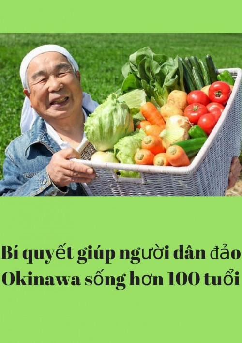 Bí quyết giúp người dân đảo Okinawa sống hơn 100 tuổi là gì?, 75743, Fucoidan Shop, Blog MuaBanNhanh, 28/11/2017 09:35:19