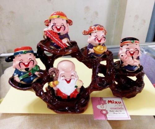 [Tượng thần tài phong thủy] Bộ tượng 5 ông thần tài Chibi đem lại may mắn và niềm vui mỗi ngày, 83046, Mixu Shop, Blog MuaBanNhanh, 10/07/2018 17:07:01