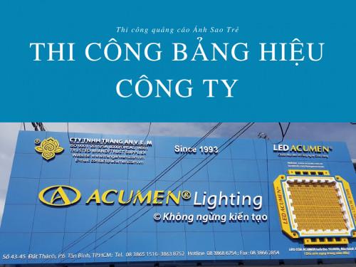 Đặt làm bảng hiệu công ty giá rẻ TPHCM, 83994, Ánh Sao Trẻ, Blog MuaBanNhanh, 02/08/2018 16:18:52