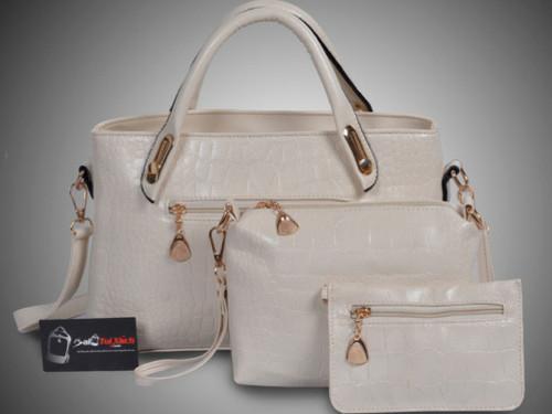 Mẫu bộ 3 túi xách màu trắng - Xưởng may túi xách chuyên sỉ tại TPHCM, 84088, Ms. Xoàn, Blog MuaBanNhanh, 25/01/2019 15:21:41