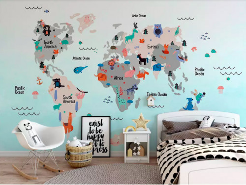 Trang trí phòng bé với decal bản đồ thế giới, 84393, Ms Hạnh Dung, Blog MuaBanNhanh, 21/08/2018 09:58:08