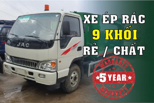 Đánh giá xe tải Jac HFC1061K3 thùng cuốn ép rác 9 khối - 9m3 giá rẻ, 84592, Công Ty Bán Xe Tải Uy Tín Sài Gòn, Blog MuaBanNhanh, 21/08/2018 09:17:57