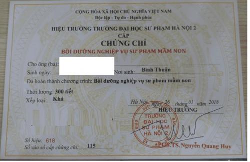 Thông báo chiêu sinh lớp nghiệp vụ sư phạm mầm non, 84721, Đoàn Nguyễn Nhân Ái, Blog MuaBanNhanh, 23/08/2018 15:57:36