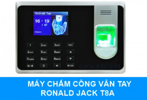 Máy chấm công vân tay Ronald Jack T8A, 85108, 0888333956, Blog MuaBanNhanh, 05/09/2018 12:07:36