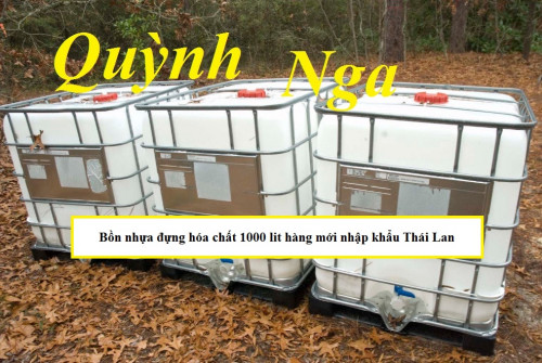 Bồn nhựa đựng hóa chất 1000 lit hàng mới nhập khẩu Thái Lan, 85133, Hà Phương, Blog MuaBanNhanh, 06/09/2018 11:36:19