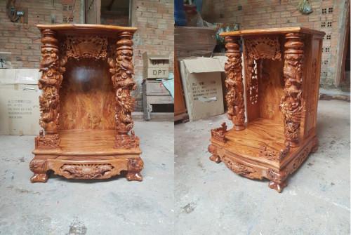 Mẫu bàn thờ Ông Địa, Thần Tài gỗ đẹp, 85289, Đồ Gỗ Nội Thất Kim Phát, Blog MuaBanNhanh, 07/11/2018 10:42:55