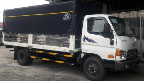 Xe tải Hyundai HD120SL 8 tấn thùng mui bạt, 85342, Hyundai Vũ Hùng, Blog MuaBanNhanh, 11/09/2018 16:57:25