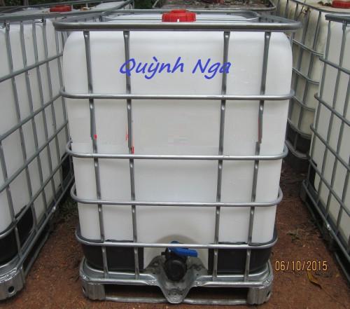 Thùng nhựa 1000 lit, bồn nhựa 1000l cũ giá rẻ, thùng đựng nước 1000l, 85378, Hà Phương, Blog MuaBanNhanh, 12/09/2018 14:27:44