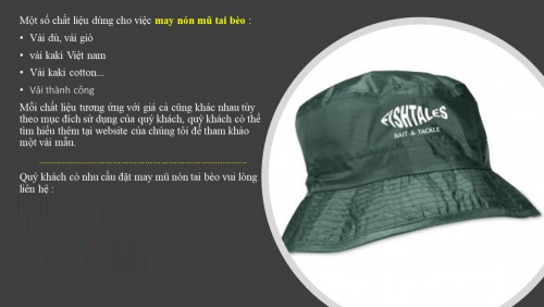 Kinh doanh nón tai bèo tại An Giang, 85439, Cong Ty May Mu Non, Blog MuaBanNhanh, 17/09/2018 13:36:27