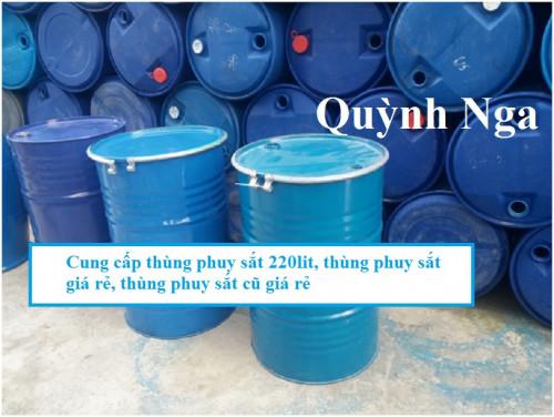 Cung cấp thùng phuy sắt 220lit, thùng phuy sắt giá rẻ, thùng phuy sắt cũ giá rẻ, 85531, Hà Phương, Blog MuaBanNhanh, 18/09/2018 08:44:53