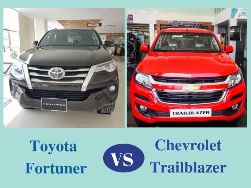 So sánh giá Chevrolet Trailblazer và Toyota Fortuner, 85800, Bảo Chevrolet, Blog MuaBanNhanh, 01/10/2018 17:05:49